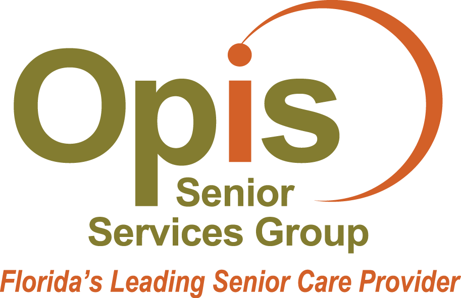 Opis Senior Services Group with tagline Florida's Leading Senior Care Provider