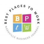 Nashville Business Journal's Best Places to Work Seal